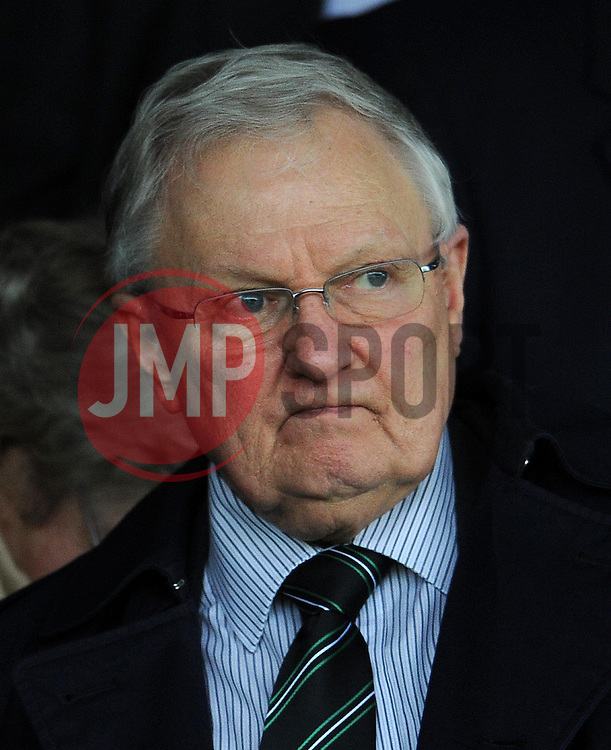 Yeovil Town's Chairman John Fry - Photo mandatory by-line: Harry Trump/JMP - Mobile: 07966 386802 - 03/04/15 - SPORT - FOOTBALL - Sky Bet League One - Yeovil Town v Chesterfield - Huish Park, Yeovil, England.