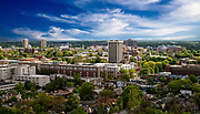 View of campus from Central Bank building  on Wednesday April 25, 2017. Photo by Mark Cornelison   UKphoto