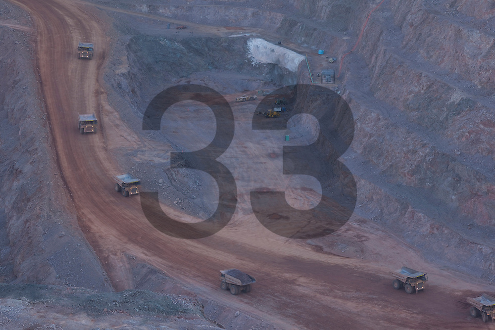 The HERRADURA mine in the State of Sonora, part of the Fresnillo plc group is one of Mexico's richest gold mine.