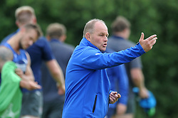 Bristol Rugby Director of Rugby Andy Robinson looks on as Bristol Rugby train ahead of the 2015/16 Greene King IPA Championship season - Mandatory byline: Dougie Allward/JMP - 07966386802 - 03/08/2015 - FOOTBALL - Clifton Rugby Club -Bristol,England - Bristol Rugby Training