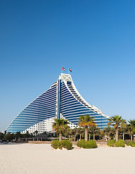 Luxury Jumeirah Beach hotel in Dubai United Arab Emirates