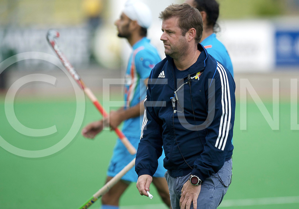 MELBOURNE - Champions Trophy men 2012<br /> India v Belgium 1-0<br /> foto: Marc Lammers druipt af na de verloren wedstrijd.<br /> FFU PRESS AGENCY COPYRIGHT FRANK UIJLENBROEK