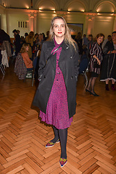 Daisy De Villeneuve at the ASAP VIP lunch (African Solutions To African Problems) held at the RHS Lindley Hall, 80 Vincent Square, London, England. 10 October 2018.