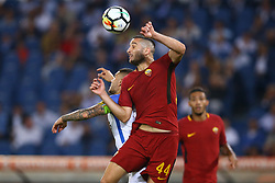 August 26, 2017 - Rome, Italy - Kostas Manolas of Roma  during the Serie A match between AS Roma and FC Internazionale at Olimpico Stadium in Rome, Italy, on August 26, 2017. (Credit Image: © Matteo Ciambelli/NurPhoto via ZUMA Press)