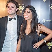 NLD/Hilversum/20180125 - Gouden RadioRing Gala 2017, Hila Noorzai en Joost Swinkels