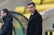 Aberdeen Manager Stephen Glass pointing, directing, signalling, gesture during the Scottish Premiership match between Livingston and Aberdeen at Tony Macaroni Arena, Livingstone, Scotland on 1 May 2021.