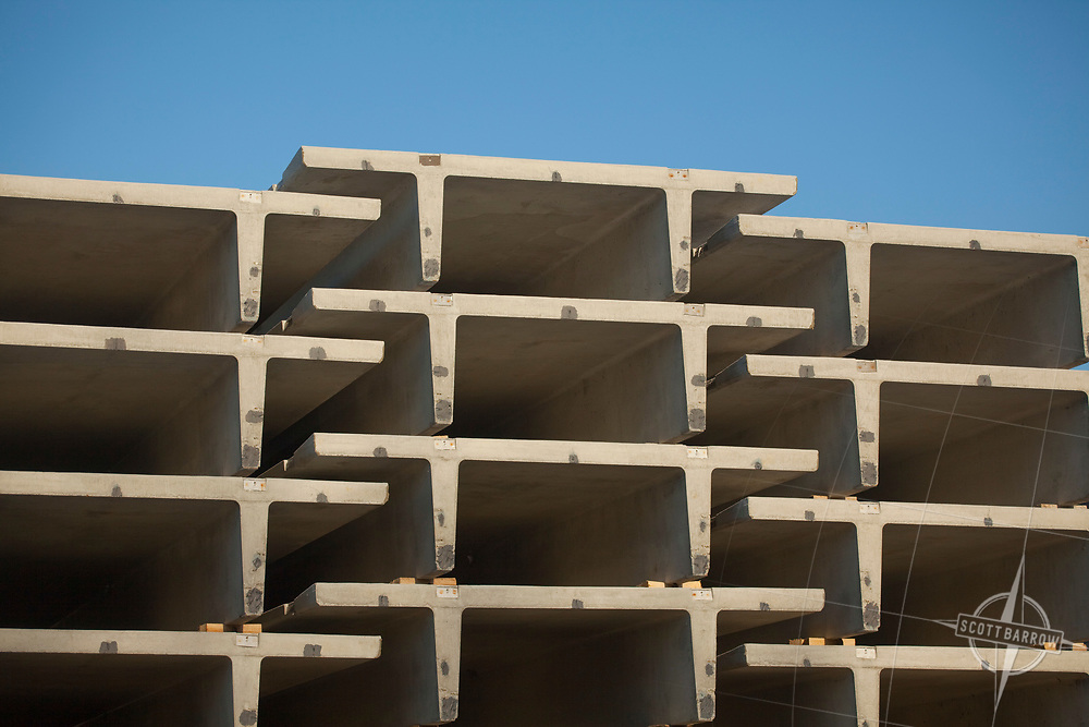 Unistress in Pittsfield, MA Pre-stressed concrete forms used in building and highway construction.