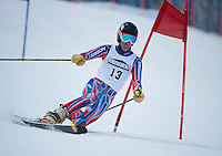 US Telemark Championships 2nd run giant slalom at Gunstock March 9, 2012.