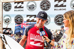 December 16, 2018 - Pupukea, Hawaii, U.S. - Joel Parkinson (AUS) advances to Round 3 of the 2018 Billabong Pipe Masters after winning Heat 12 of Round 2. (Credit Image: © Kelly Cestari/WSL via ZUMA Wire)