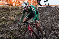 RAFFERTY Darren (IRL) during Men Junior race, 2020 UCI Cyclo-cross Worlds Dübendorf, Switzerland, 2 February 2020. Photo by Pim Nijland / Peloton Photos   All photos usage must carry mandatory copyright credit (Peloton Photos   Pim Nijland)