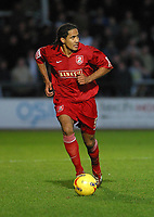 Photo: Dave Linney.<br />Hereford United v Walsall. Coca Cola League 2. 18/11/2006.Walsall  goalscorer  Chris Westwood.