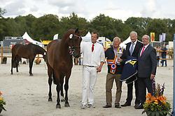 070 - Gouvernante VDL<br /> Finale 3 jarige Springmerries<br /> KWPN Paardendagen - Ermelo 2014<br /> © Dirk Caremans