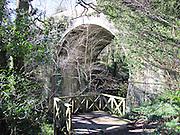 Knocksink, Bridge, Enniskerry, co, Wicklow,  1859, arch, wood, woods, walk, way,