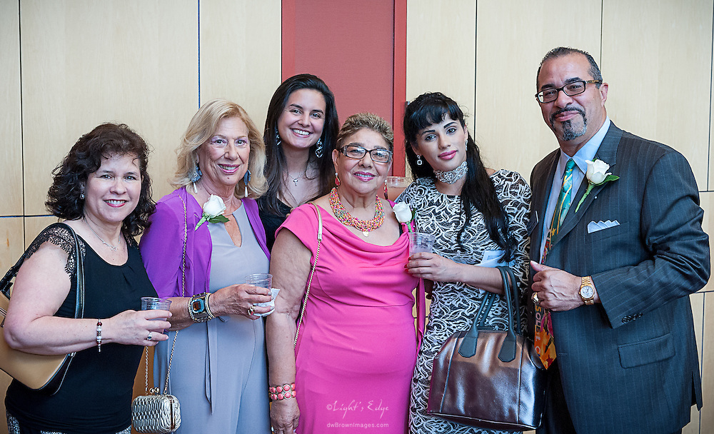 Edward E. Ayuso II and company at the SOPAC 2015 Gala.