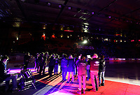 Ishockey Hokey<br /> GET - ligaen<br /> Jordal Amfi 29.12.12<br /> Vålerenga VIF - Storhamar<br /> Kick-off til jubileumssesongen 2013 med Vålerenga Idrettsforening<br /> Vålerenga Janitsjar<br /> Foto: Eirik Førde