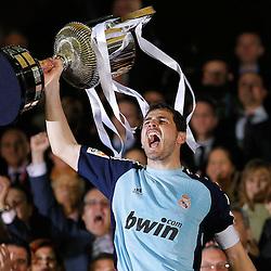20110420: ESP, Football - Copa del Rey, Finals, FC Barcelona vs Real Madrid