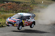 action from Wales Rally GB 2012, picture by Andrew Orchard,