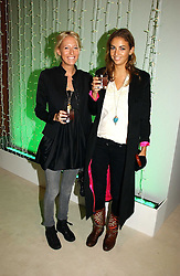 Left to right, the HON.SOPHIA HESKETH and ROSE HANBURY at an exhibition of David Hockney portraits at the National Portrait Gallery sponsored by Burberry on 11th October 2006.<br /><br />NON EXCLUSIVE - WORLD RIGHTS