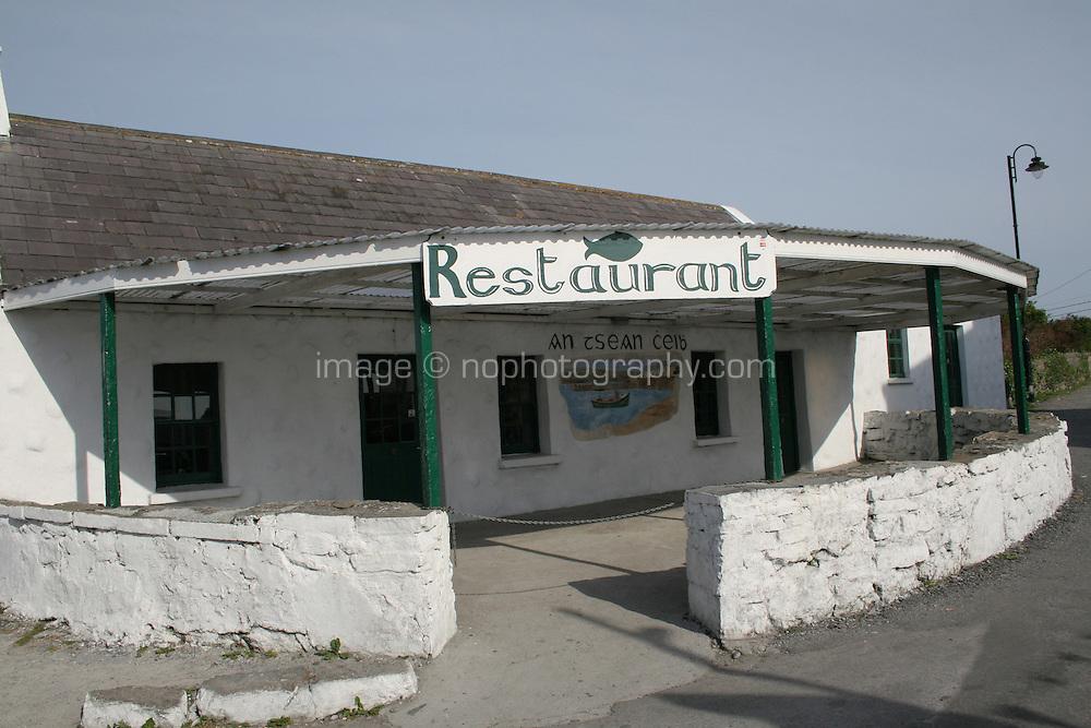 Restaurant on Inis Mor Aran Islands County Galway Ireland