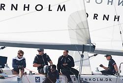 Bruni vs Minoprio. Danish Open 2010, Bornholm, Denmark. World Match Racing Tour. photo: Loris von Siebenthal - WMRT