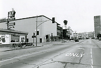 1976 Looking north on Vine St. from Fountain Ave.