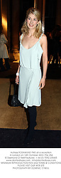 Actress ROSAMUND PIKE at a reception in London on 14th October 2003.PNL 254