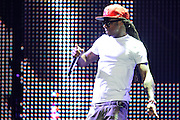 Lil Wayne performing live on the I Am Still Music Tour at the Scottrade Center in St. Louis, MO, on April 10, 2011.