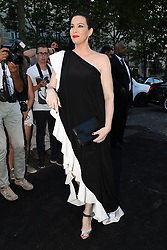 Liv Tyler arriving at the Vogue Party hosted during the Haute Couture Fashion Week in Paris, France on July 3rd, 2018. Photo by Clement Prioli/ABACAPRESS.COM