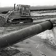 NLD/Bunschoten/19930409 - Koenraadweg Bunschoten bouwrijp maken grond