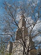 New York Brooklyn.  Clock tower in Brooklyn BAM area  New York - United states /  la tour de l horloge dans le quartier de Brooklyn BAM - Etats-unis