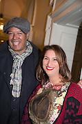 MICHAEL ROBERTS; MARTINA RINK, Isabella Blow: Fashion Galore! private view, Somerset House. London. 19 November 2013