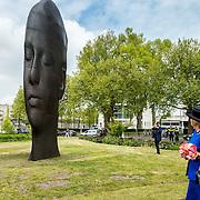 NLD/Amsterdam/20150522 - Prinses Beatrix opent Art Zuid 2015,