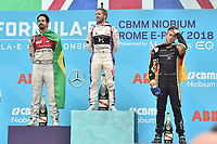 Sam Bird Virgin win Formula E prix Roma 2018, Di Grassi, Lotterer.<br /> Roma 14- 04-2018 Eur<br /> Roma E  Prix 2018 / Formula E Championship<br /> Foto Antonietta Baldassarre Insidefoto