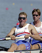 St Catherines, CANADA,  GBR M4-  Matt PINSENT,  competing at the 1999 World Rowing Championships - Martindale Pond, Ontario. 08.1999..[Mandatory Credit; Peter Spurrier/Intersport-images]   ...St Catherines, CANADA,  GBR W2-, Bow Dot BLACKIE and Cath BISHOP,  competing at the 1999 World Rowing Championships - Martindale Pond, Ontario. 08.1999..[Mandatory Credit; Peter Spurrier/Intersport-images]   ... 1999 FISA. World Rowing Championships, St Catherines, CANADA