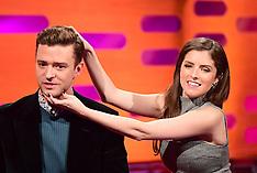 London Daniel Radcliffe, Justin Timberlake, Robbie Williams And Anna Kendrick On The Graham Norton S