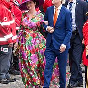 NLD/Den Haag/20190917 - Prinsjesdag 2019, Geert Wilders en Fleur Agema