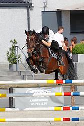 Van Bunder Bjorn (BEL) - Wendelina van't Merelnest<br /> Beker van België - Stal Hulsterlo - Meerdonk 2010<br /> © Dirk Caremans