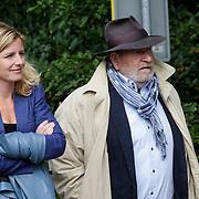 NLD/Leusden/20120920- Uitvaart Joop van Tellingen, Maus Boegman en dochter Colette