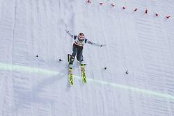 27.02.2021, Oberstdorf, GER, FIS Weltmeisterschaften Ski Nordisch, Oberstdorf 2021, Herren, Skisprung, HS106, Einzelbewerb, im Bild Stefan Kraft (AUT) // Stefan Kraft of Austria during men ski Jumping HS106 Single Competition of FIS Nordic Ski World Championships 2021. in Oberstdorf, Germany on 2021/02/27. EXPA Pictures © 2021, PhotoCredit: EXPA/ JFK