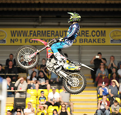 Nitro Circus Live, Livingston, Saturday 4th June 2016<br /> <br /> Tricks were performed on various objects<br /> <br /> (c) Alex Todd | Edinburgh Elite media