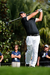 March 15, 2019 - Ponte Vedra Beach, FL, U.S. - PONTE VEDRA BEACH, FL - MARCH 15: Patrick Reed of the United States plays a shot on the second hole during the second round of THE PLAYERS Championship on March 15, 2019 on the Stadium Course at TPC Sawgrass in Ponte Vedra Beach, Fl.  (Photo by David Rosenblum/Icon Sportswire) (Credit Image: © David Rosenblum/Icon SMI via ZUMA Press)
