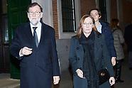 010920 Mariano Rajoy' Sister Mass Funeral