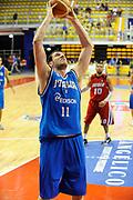 DESCRIZIONE : Biella Trofeo Angelico Raduno Collegiale Nazionale Maschile Amichevole Italia Giordania<br /> GIOCATORE : Andrea Crosariol<br /> SQUADRA : Nazionale Italia Uomini<br /> EVENTO : Raduno Collegiale Nazionale Maschile Amichevole Italia Giordania<br /> GARA : Italia Giordania<br /> DATA : 18/06/2009 <br /> CATEGORIA : tiro <br /> SPORT : Pallacanestro <br /> AUTORE : Agenzia Ciamillo-Castoria/G.Ciamillo