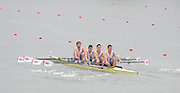 Racice, CZECH REPUBLIC. GBR JM4X, Bow Jack BEAUMONT, Wilf KIMBERLEY, Angus GROOM and Marcus BOWYER. Prepare and competing in the Semifinal of the junior men's quadruple sculls.   2010. FISA Junior World Rowing Championships. Saturday,  07/08/2010.  [Mandatory Credit Peter Spurrier/ Intersport Images]