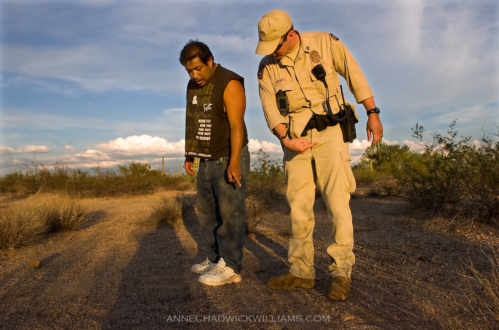 Border Patrol. The Sacramento Bee/ Anne Chadwick Williams/ August 1, 2006