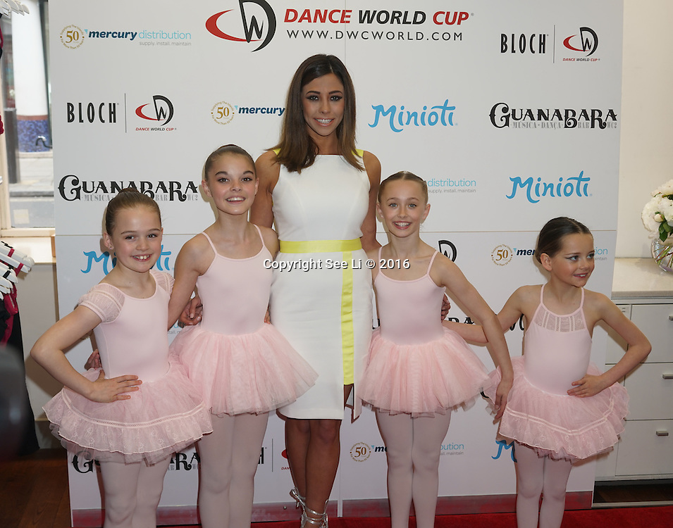 London,England,UK : 28th April 2016 : Pascal Craymer attend Kimberly Wyatt launches the 2016 annual BLOCH Dance World Cup at BLOCH, 35 Drury Lane, Covent Garden, London. Photo by See Li