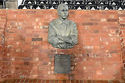 In memory of former Derby County player Steve Bloomer 1974 - 1938 ahead of the EFL Sky Bet Championship match between Derby County and Cardiff City at the Pride Park, Derby, England on 14 February 2017. Photo by Jon Hobley.