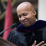 The Bates community celebrates it's 152nd Commencement on May 27, 2018.