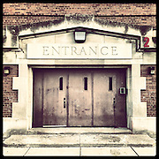 Graeme Stewart Elementary School, 4525 N Kenmore Ave in Uptown. Opened 1907, closed 2013. Actors Harrison Ford and Gloria Swanson are alumni. Photographed Monday, Aug. 26, 2013 with an iPhone and the Instagram filter Brannan. (Brian Cassella/Chicago Tribune) B583150507Z.1 <br /> ....OUTSIDE TRIBUNE CO.- NO MAGS,  NO SALES, NO INTERNET, NO TV, CHICAGO OUT, NO DIGITAL MANIPULATION...