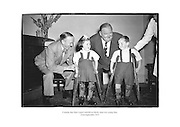 comedy duo Stan Laurel and Oliver Hardy meet two young fans.<br />